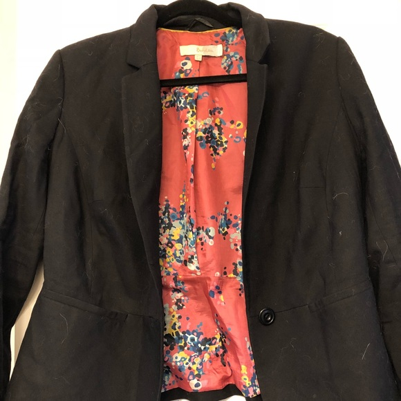 6cc8f6baaf85 Boden Jackets & Coats | Euc Blazer With Floral Lining | Poshmark